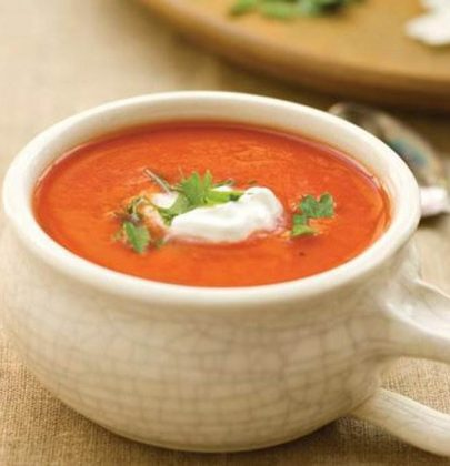 Bebekler için harika besin: Ev yapımı tarhana çorbası