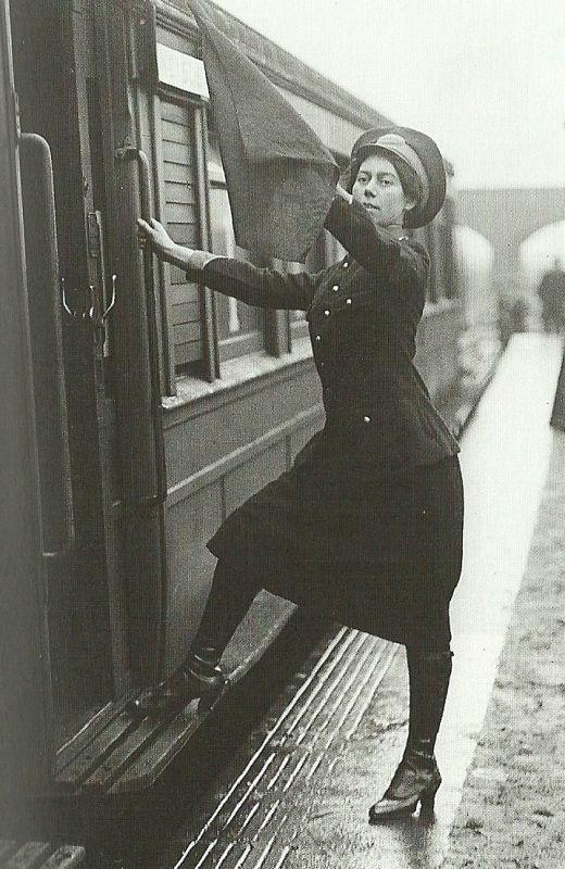 kadın yolcu