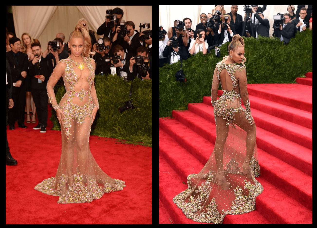 Beyonce 2015 Fazla transparanlar listesinde.