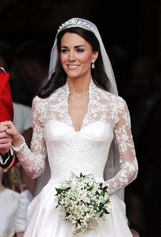 Kate Middleton gelinliği 1