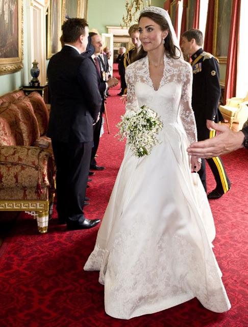 Kate Middleton gelinliği 5