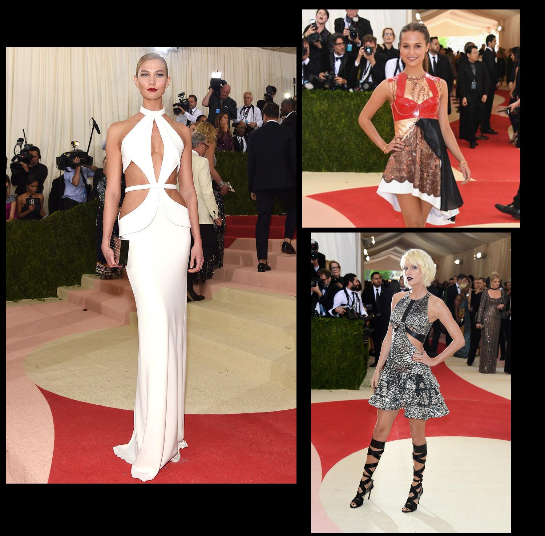 Met Gala 2016 Karlie Kloss her zamanki gibi şık ve sade olmuş. Getty Alicia Vikander tam benlik bir kıyafet seçmiş. Taylor Swift ilginç bir seçim yapmışış