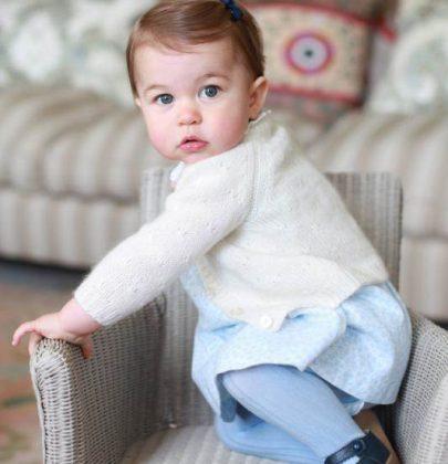 Kate Middleton ve Prens William'ın kızı bugün 1 yaşında!