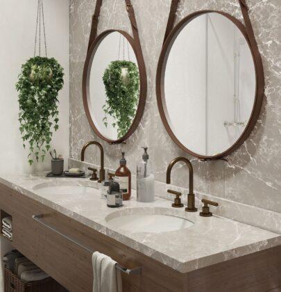 Küçük banyolarda illüzyon yaratacak beş öneri