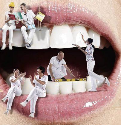 Dişlerde oluşan siyah lekeler